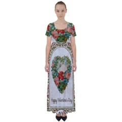 Valentines Day 1171148 1920 High Waist Short Sleeve Maxi Dress