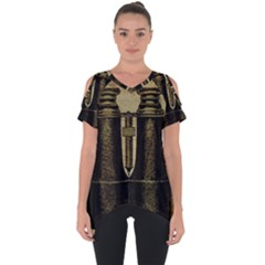 Background 1135045 1920 Cut Out Side Drop Tee