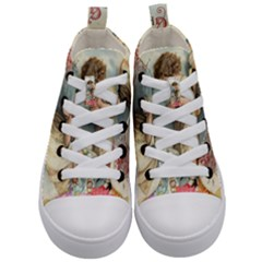 Easter 1225815 1280 Kid s Mid Top Canvas Sneakers