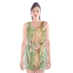 Fairy 1225819 1280 Scoop Neck Skater Dress