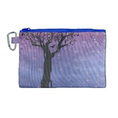 Silhouette 1131861 1920 Canvas Cosmetic Bag (large)