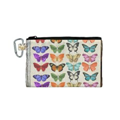 Butterfly 1126264 1920 Canvas Cosmetic Bag (small)