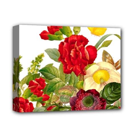Flower Bouquet 1131891 1920 Deluxe Canvas 14  X 11