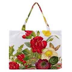 Flower Bouquet 1131891 1920 Zipper Medium Tote Bag
