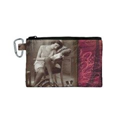 Vintage 1217079 1920 Canvas Cosmetic Bag (small)