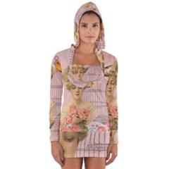 Woman 1079479 1920 Long Sleeve Hooded T Shirt