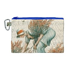 Flapper 1079515 1920 Canvas Cosmetic Bag (large)