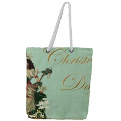 Christening 976872 1280 Full Print Rope Handle Tote (large)