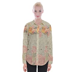 Vintage 1079411 1920 Womens Long Sleeve Shirt