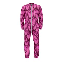 Shimmering Hearts Pink Onepiece Jumpsuit (kids)