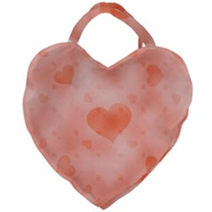 Soft Hearts C Giant Heart Shaped Tote