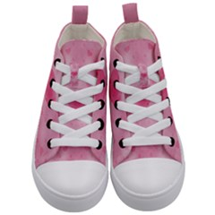 Soft Hearts A Kid s Mid Top Canvas Sneakers