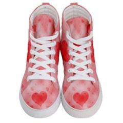 Soft Hearts B Women s Hi Top Skate Sneakers