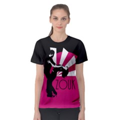 Zouk   Forget The Time Women s Sport Mesh Tee