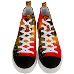 Flare Men s Mid Top Canvas Sneakers