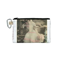 Vintage 1071148 1920 Canvas Cosmetic Bag (small)