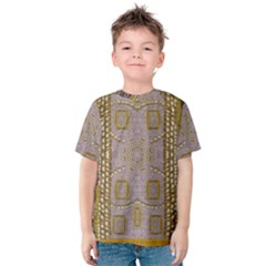Gothic In Modern Stars And Pearls Kids  Cotton Tee