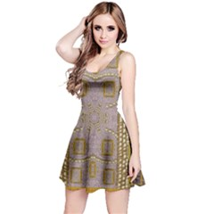 Gothic In Modern Stars And Pearls Reversible Sleeveless Dress