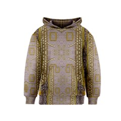 Gothic In Modern Stars And Pearls Kids  Pullover Hoodie