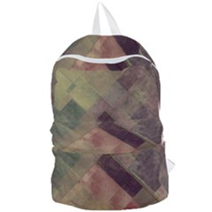 Vintage Style Graphic Print Foldable Lightweight Backpack