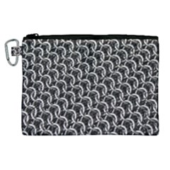 Igp3346 Chainmail Canvas Cosmetic Bag (xl)