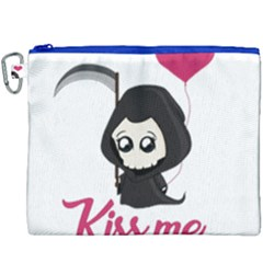 Cute Grim Reaper Canvas Cosmetic Bag (xxxl)