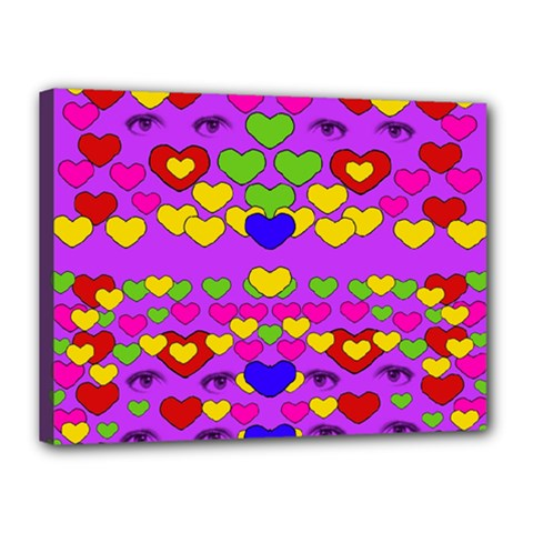 I Love This Lovely Hearty One Canvas 16  X 12