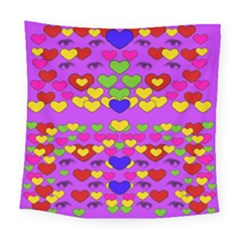 I Love This Lovely Hearty One Square Tapestry (large)