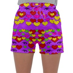 I Love This Lovely Hearty One Sleepwear Shorts