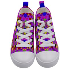 I Love This Lovely Hearty One Kid s Mid Top Canvas Sneakers