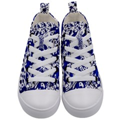Direct Travel Kid s Mid Top Canvas Sneakers