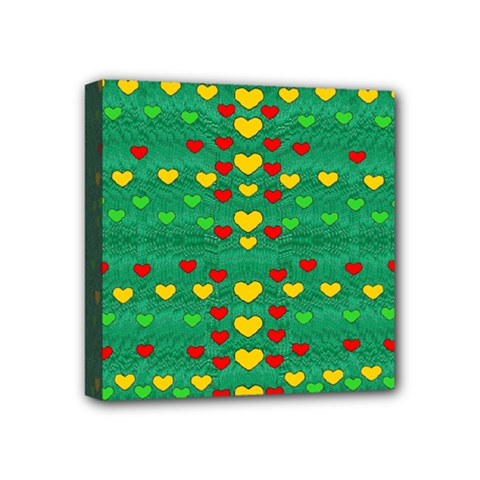 Love Is In All Of Us To Give And Show Mini Canvas 4  X 4
