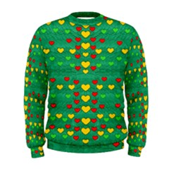 Love Is In All Of Us To Give And Show Men s Sweatshirt