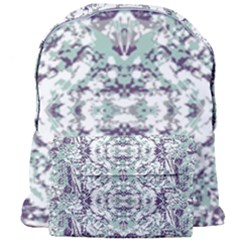 Modern Collage Pattern Mosaic Giant Full Print Backpack