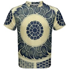 Background Vintage Japanese Men s Cotton Tee