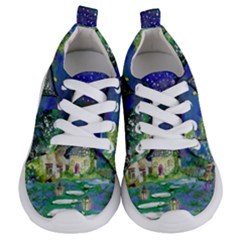 Background Fairy Tale Watercolor Kids  Lightweight Sports Shoes