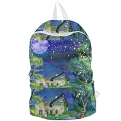 Background Fairy Tale Watercolor Foldable Lightweight Backpack