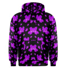Pretty Flowers Men s Pullover Hoodie