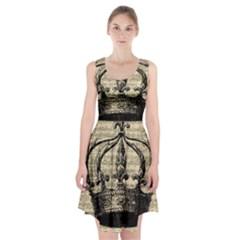 Vintage 1061571 1920 Racerback Midi Dress