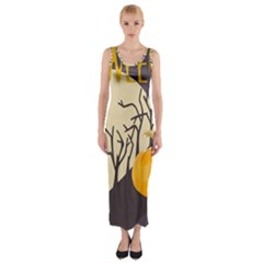 Halloween 979495 1280 Fitted Maxi Dress