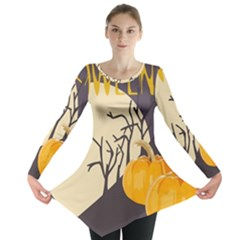 Halloween 979495 1280 Long Sleeve Tunic