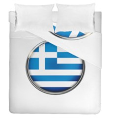 Greece Greek Europe Athens Duvet Cover Double Side (queen Size)