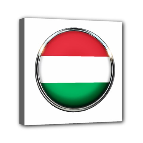 Hungary Flag Country Countries Canvas Travel Bag