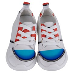 Luxembourg Nation Country Red Kids  Lightweight Sports Shoes