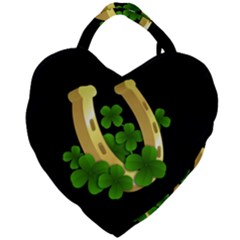 St  Patricks Day  Giant Heart Shaped Tote