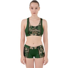 St  Patricks Day  Work It Out Sports Bra Set