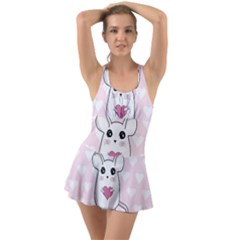 Cute Mouse   Valentines Day Swimsuit