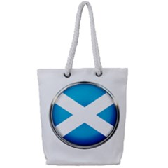 Scotland Nation Country Nationality Full Print Rope Handle Tote (small)