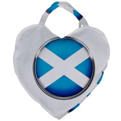 Scotland Nation Country Nationality Giant Heart Shaped Tote