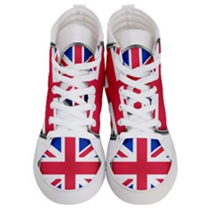 United Kingdom Country Nation Flag Men s Hi Top Skate Sneakers